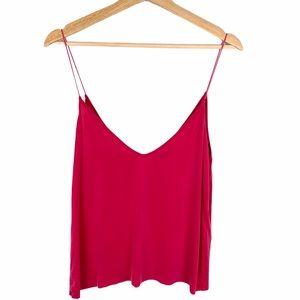 Zara Pink Tank Top Sleeveless Blouse